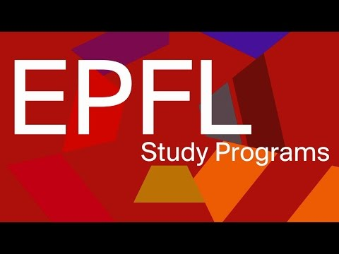 Studying at EPFL
