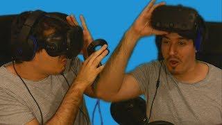 OVO JE PRESTVAARNOOO!!! (Htc vive) Virtualna stvarnost