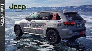 Jeep Grand Cherokee Trackhawk Sets SUV Speed Record on Ice of Lake Baikal (Russia)