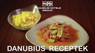 Danubius Receptek - Paradicsomos okra sáfrányos kuszkusszal - Danubius Hotels Group