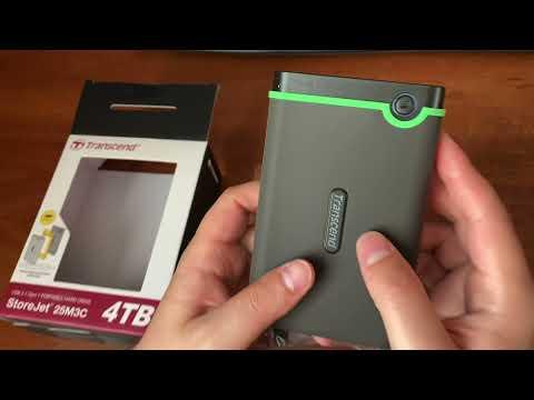 "Жорсткий диск Transcend StoreJet 25M3C 4 TB TS4TSJ25M3C 2.5"" USB 3.1 Type-C External"