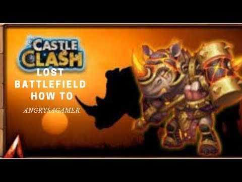 How To Setup Lost Battlefield With Only Free To Play Heroes. Castle Clash