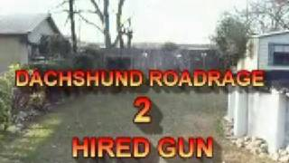 Dachshund Road Rage -2 Hired Gun