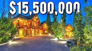 INSIDE A $15,500,000 PARK CITY, UTAH MANSION