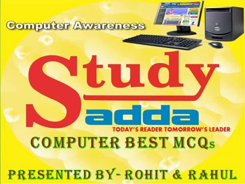 Computer Awareness (BASIC) for LIC AAO, IBPS CLERK & PO, SBI and other Competitive Exams