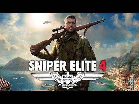SNIPER ELITE 4: ITALIA - Muitos Headshots e Explosões!!! (PS4 Pro Gameplay Ao Vivo)