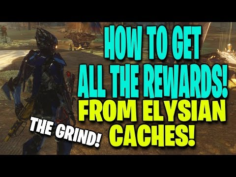 How To Get ALL The Rewards From Elysian Caches in ANTHEM!