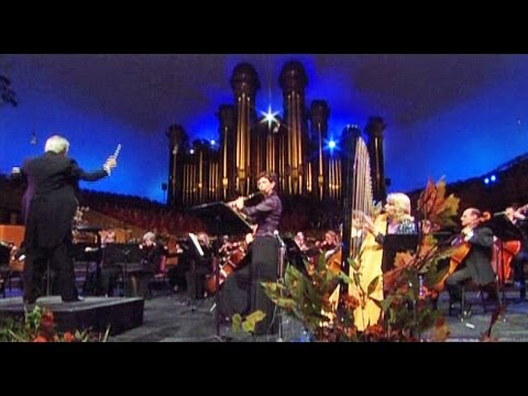 W.A. Mozart Flute & Harp Concerto K 299 - 1st 2nd 3rd Movement - Beautiful Live Classical Music Solo