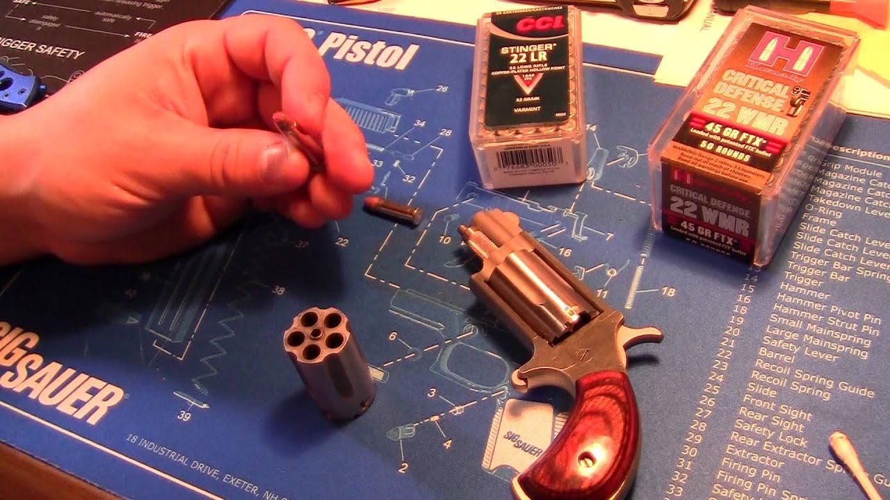 Mini Revolver North American Arms Magnum - YouTube