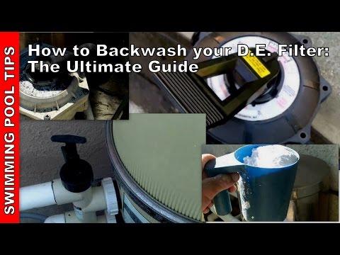 hayward pool filter hose hook up