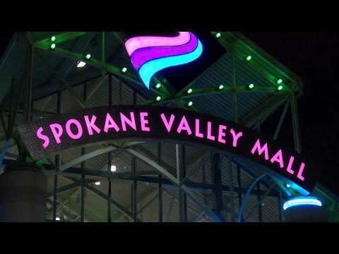 Spokane Valley Mall Merry Christmas - Рождество в  Спокенском Торговом Центре 2015