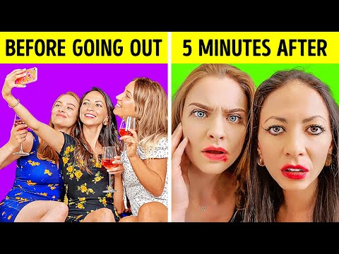 GIRLS WILL BE GIRLS || Hilarious Things We All Do by 5-minute FUN