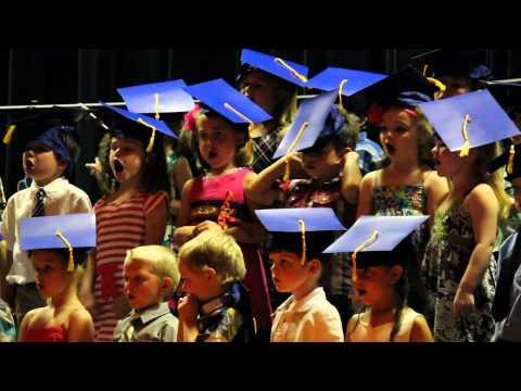 Riverside Preschool Graduation Singing Let It Go