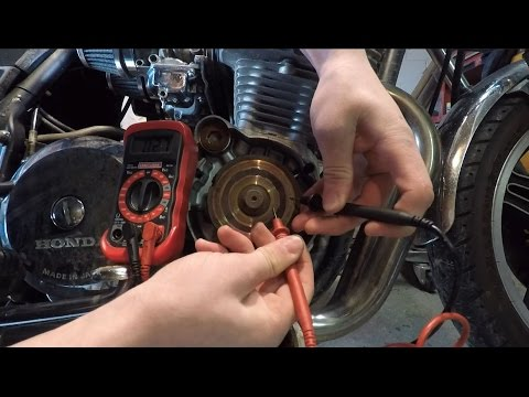 How To: Fix a Motorcycle Battery Charging System