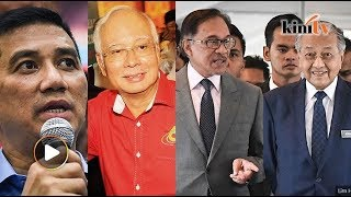Najib balas Azmin, Husam serah bukti, SPRM cekup peguam Umno - Sekilas Fakta, 20 Feb 2019