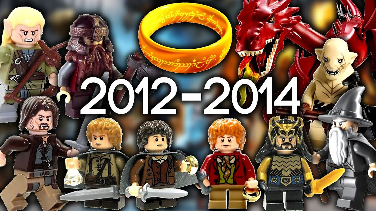 Every Lego Lord Of The Rings Hobbit Set Ever Made Youtube