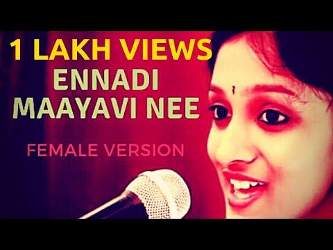 Ennadi Maayavi Nee (Female version cover) - Vadachennai | Amrutha | Matthew J S Raj | NAM Studios