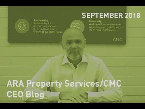 CEO Blog September 2018