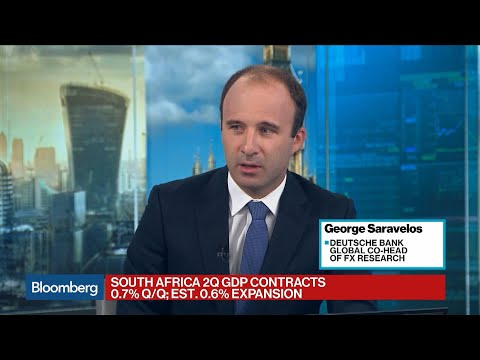 Rand Seen Falling Further as South Africa Enters Recession