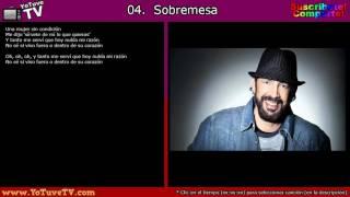 ►Juan Luis Guerra 4:40 -  Burbujas De Amor (2010) + Letras