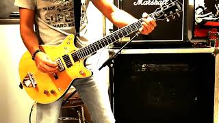 """Gretsch G6131-Malcolm Young """"Overdose"""" Intro Guitar Cover"""