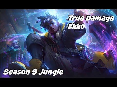 League of Legends: True Damage Ekko Jungle Gameplay