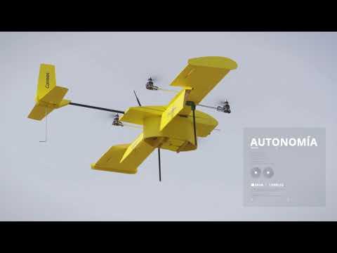 Correos realiza pruebas con drones para mejorar su servicio