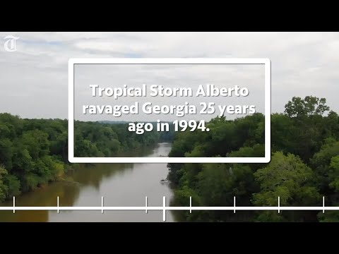 Timeline Of 1994 Flood In Macon, Middle Georgia From Tropical Storm Alberto