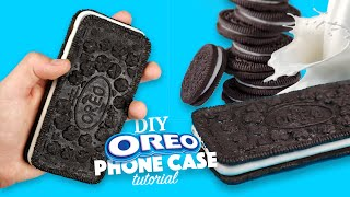 DIY | How to make an Oreo Phone Case - Tutorial(Watch me in HD & Open me! -THANK YOU SO MUCH FOR 286K+ SUBSCRIBERS! What I use to make my videos? - Canon 750d: http://amzn.to/1OU1L8h ..., 2016-01-14T17:28:12.000Z)