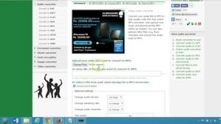 How to Convert Video to MP3 Online Free Online File converter