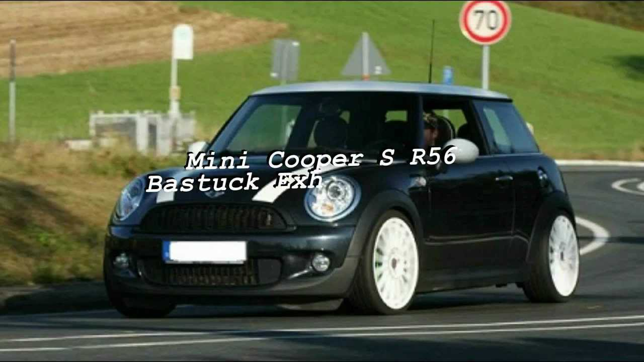 MINI Cooper S R56  Akrapovic DOWNPIPE(Sound)wmv  YouTube