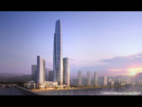 Update 3/2017 Supertall CHONGQINGChongqing Corporate Avenue 468m 1535ft 100 fl 256m 839ft,47 fl 181m