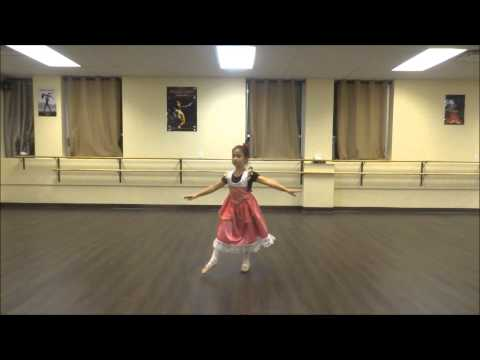 Ballet 1 & 2 Open House - Emilia performing Clara's Variation from the Nutcracker (part 10)