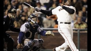 Barry Bonds Career Highlights