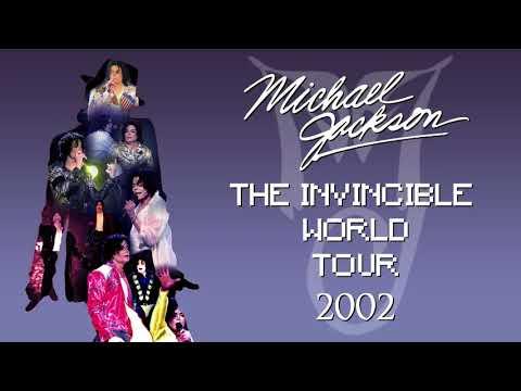 INVINCIBLE WORLD TOUR, 2002 [My Setlist] (Fanmade by KaiDanzberg) | Michael Jackson
