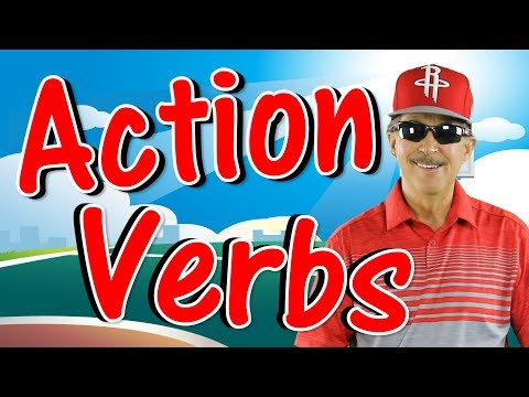 Action Verbs | Reading & Writing Song for Kids | Verb Song | Jack Hartmann