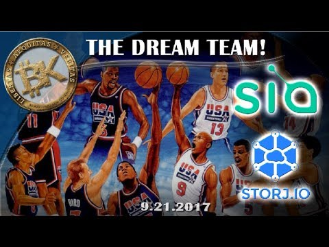 #17 STORJ v SIA🏀🏆 Free Bitcoin Chart Report Crypto Cash Trading Mining Bitstamp x22 Cloud Ethereum