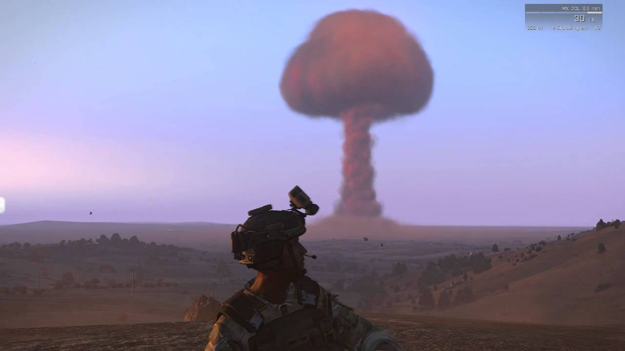 Arma III - Atomic Bomb - Nuclear weapon