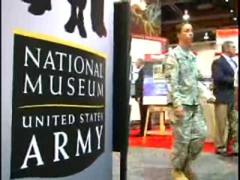 National Army Museum exhibits at 2009 AUSA Annual Meeting