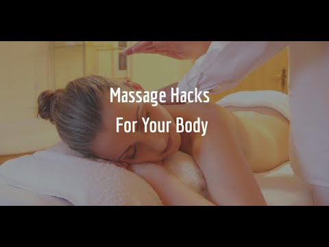 Massage Hacks