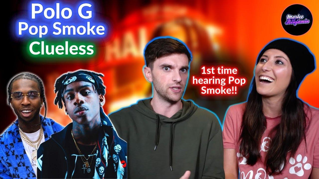 COUPLE REACTS to Polo G - Clueless ft. Pop Smoke, Fivio Foreign