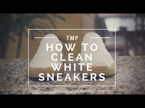 How to Clean White Sneakers   How to Protect White Sneakers From Getting Dirty