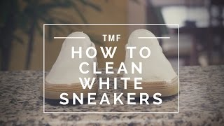 How to Clean White Sneakers | How to Protect White Sneakers From Getting Dirty