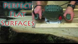 Easy Router Planer Jig - Flatten Any Wooden Surface