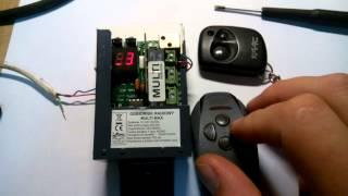 film pokazuje jak edytować kanały konkretnego pilota w radiu multi ...