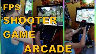 Arcade Shooter Game or FPS (First Person Shooter)  - Jorhen and Johan playing