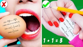 Back To School: 23 Types Of Students In Class | Type Of Teacher In School | Funny DIY School Pranks