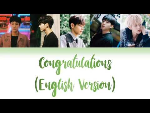 DAY6 (데이식스) - Congratulations English Color Coded Lyrics