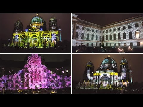Festival of Lights 2017 - Highlights 3D-Videomappings in Berlin