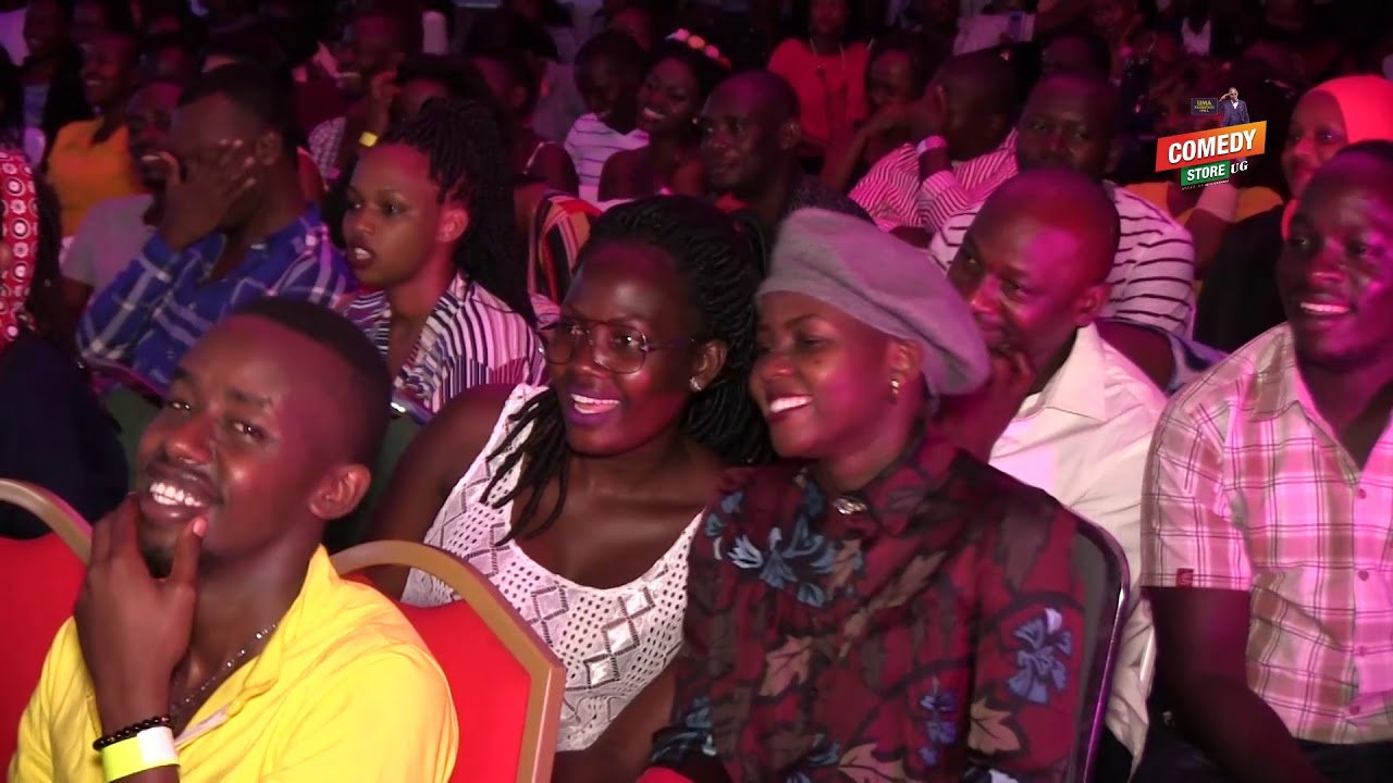 Alex Muhangi Comedy Store August 2018 - MC MARIACHI(Blue Corner)
